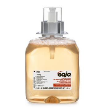 GOJO 5162-03 Luxury Foam Antibacterial Handwash - 1250 ml refill - 1 case of 3 refills
