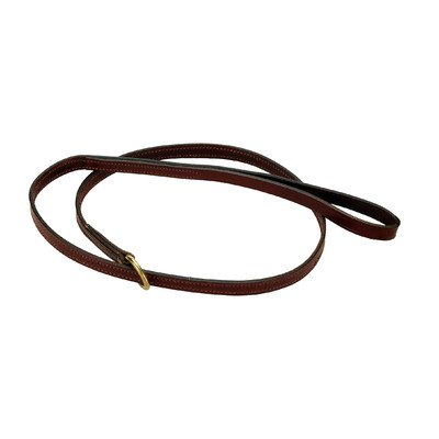 Mendota Products Leather Slip Lead, 5/8-Inch by 6-Feet, Chestnut, My Pet Supplies