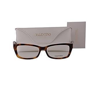 Valentino V2615R Eyeglasses 52-16-130 Havana 214 V2615