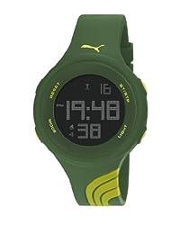 PUMA PU911091007 - Wristwatch, unisex, Plastic, Yellow Tone