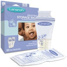 Lansinoh грудного молока хранения мешков, 50-Count