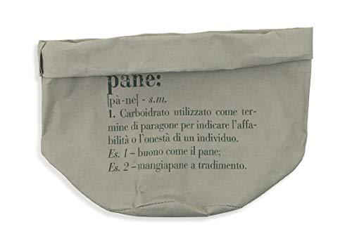 /Ø 18 x h 24 cm Carta Villa d/'Este Home Tivoli victionary Cesto Pane Medio Grigio