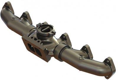 BD Diesel 1045996-T4 Pulse Exhaust Manifold