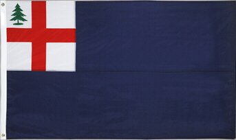 Bunker Hill - Bunker Hill Stick (Rayon Mounted Stick Flag)