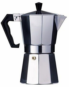 Aluminum Cuban Style Coffee Maker 12 cup.