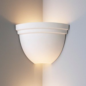 corner lighting led 85 inch corner bowl light w double edge rim ceramic wall sconceindoor sconce