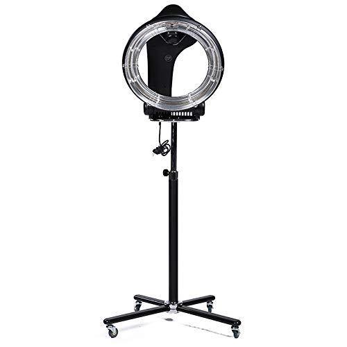 AceFox Orbiting Infrared Hair Dryer, Rotating Hair Dryer Hair Processor Professional Salon Dryer, 360 Degree Rollerball (Black)