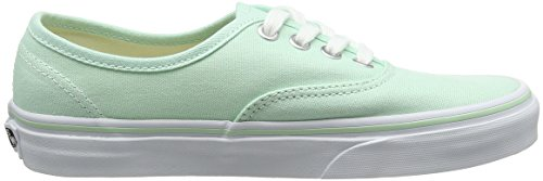 UA Bay Vans White Authentic True Donna Verde Ginnastica Basse Scarpe da fwUCOxqw
