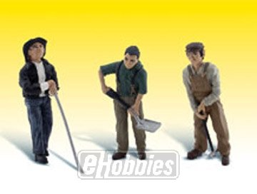 Rail Workers G Scale Woodland Scenics from Woodland Scenics