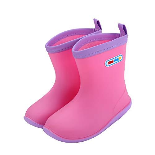 278a5f496a249  Fineme  キッズ レインブーツ 女の子 男の子 子供 レインシューズ 長靴 可愛い 防水 軽量 男女