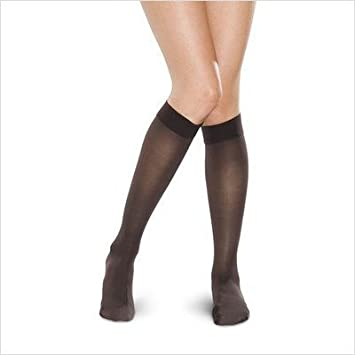 c69234cee4a Image Unavailable. Image not available for. Color  Therafirm 68125 Women s  Mild Support Sheer Knee High ...