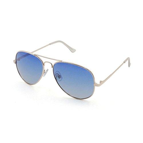 59d8d6ab7e Ocean Sunglasses - Banila aviator - lunettes de soleil en Métal - Monture :  Doré ...