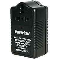 PowerPac PP60 Step Up & Down Voltage Converter Transformer 60W 110V / 220V