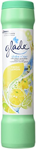 Glade Shake n' Vac Fresh Lemon Carpet Freshener, 500g
