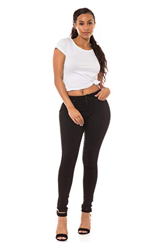 (Aphrodite Semi High Waisted Jeans for Women - Mid Rise Waist Skinny Womens 30