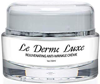 Le Derme Luxe Wrinkle Cream- Diminish Wrinkles and Lines, Hydrate Skin, Anti-aging Skincare- Daily Moisturizer