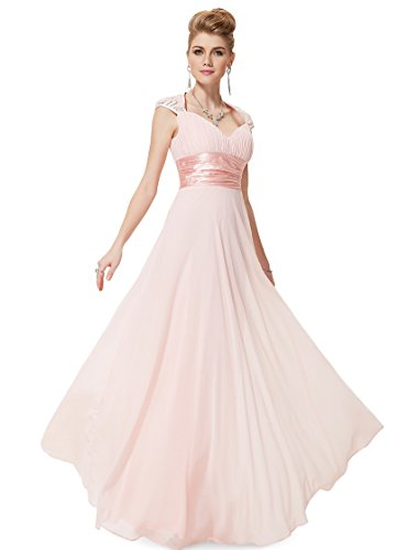 Ever Pretty Womens Elegant Formal Long Mother of the Bride Dress 10 US Pink