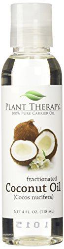 Plant Therapy Fractionated Coconut Carrier Oil Base Oil for Aromatherapy, Essential Oil or Massage use
