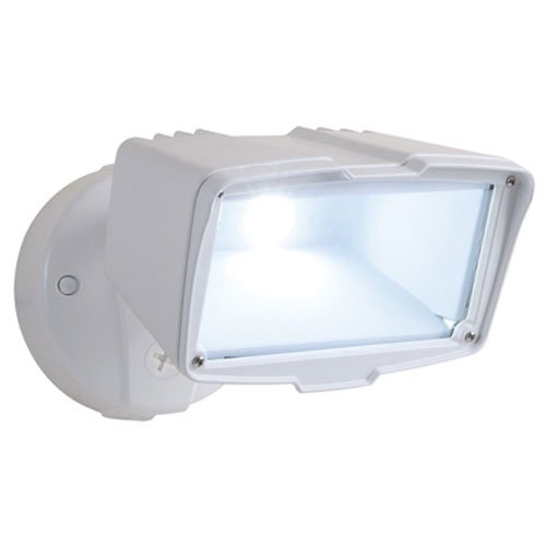 8. All-Pro FSL2030LW Single Head LED Floodlight, Large, White