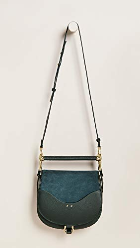SANCIA Suede Women's Hunter Green Bag Babylon wz76a