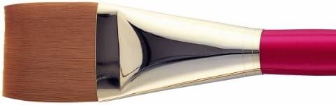 スタールビー グレイズ筆9000-1 1/2インチ号(ナイロン平筆大)
