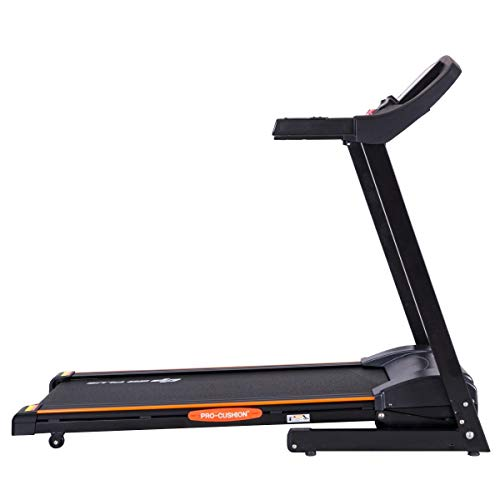 BeUniqueToday 2.5 HP Electric Motorized Power Folding Treadmill, Electric Motorized Power Folding Treadmill with 3 Quick Adjustment of 3%, 6%, 9%, Electric Smart Treadmill APP with Foldable Design