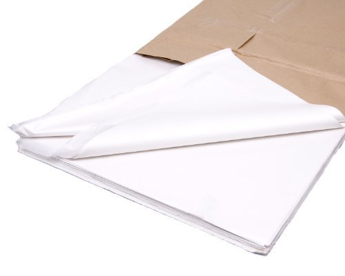100 Sheets of Acid Free White Tissue Paper 18' x 28'
