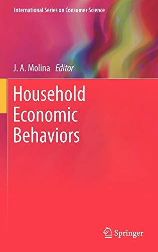 Household Economic Behaviors (International Series on Consumer Science)