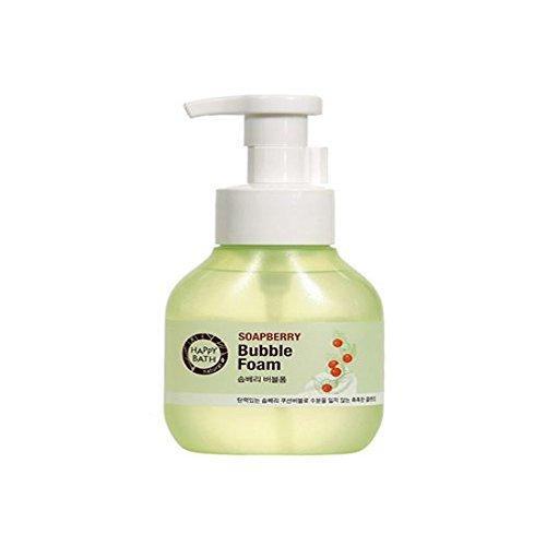 Happy Bath SOAPBERRY Bubble Foam Cleansing 300ml kpop korean beauty Bubble Cleansing Foam