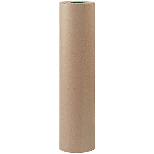Partners Brand PKPB3650 Bogus Kraft Paper Roll, 50#, 36″ x 720′, Gray