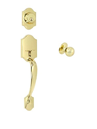 EZ-Set 2409049 Imperial Dummy Cylinder Handleset by EZ-Set with Bala Knob, Polished (Imperial Dummy Set Handleset)