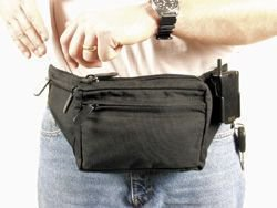 Weapon Fanny Pack With Thumb Break, Medium, Black (Blackhawk Fanny Pack compare prices)