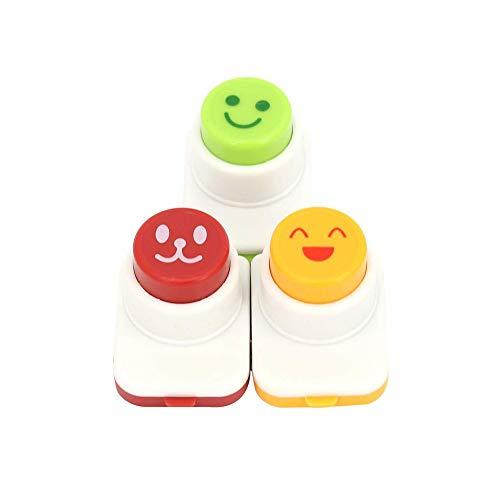DIY Sushi Tool Decorating Tool 3 pcs Smile Face Laver Seaweed Nori Punch Embossing Device