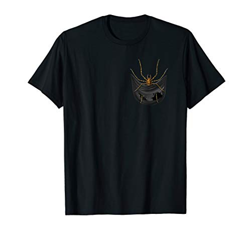 Spider In Your Pocket Animals Lover Funny Gift Tshirt