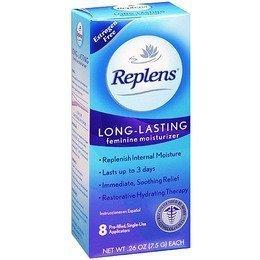 Replens Long-lasting Vaginal Feminine Moisturizer 8 Prefilled Applicators, 0.26 Oz Ea (pack Of 4) by Replens