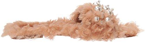 Penny Loves Kenny Womens Fifi Slipper Nude Monster Fur cN0muTvt