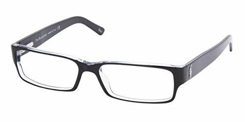 eyeglasses designer jgev  Polo Ralph Lauren PH2039 Eyeglasses Top Black / Crystal 52mm [Apparel]