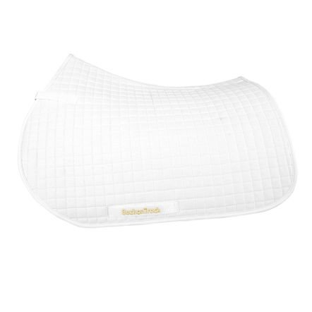 Back on Track All Purpose Saddle Pad White
