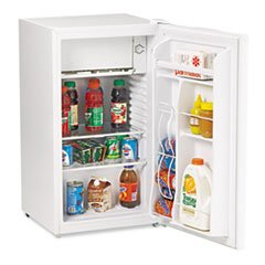 Avanti RM3306W 3.3 Cu.Ft Refrigerator with Chiller Compartment, (Avanti Beverage Dispenser Refrigerator)