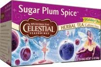 Celestial Seasonings Tea Sugar Plum Spice (Pack of (Plum Decaf Tea)