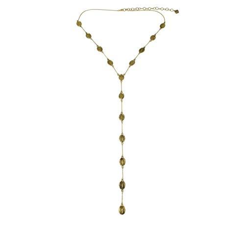 VSA - Virgins Saints and Angels Virgin Tour Necklace Gold