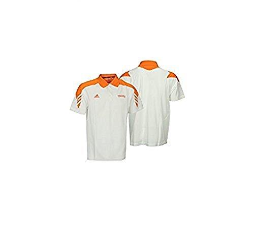 (Tennessee Volunteers NCAA Mens Scorch Polo Shirt, White / Orange (White / Orange, Large))