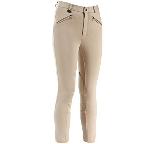 Horze Childrens Active Self Patch Breech - Warm Knee Patch Breeches Shopping Results