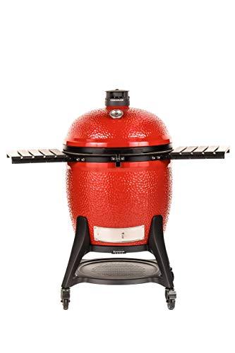 Kamado Joe BJ24RHCI-A Big Joe III Charcoal Grill, Red for sale  Delivered anywhere in USA