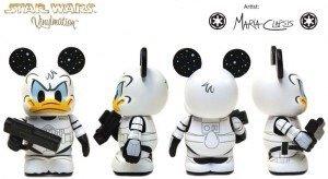Star Wars Characters Donald as Stormtrooper Disney Vinylmati
