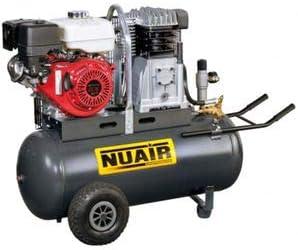 NuAir Compresor De Aire à Motor térmico rãservoir de 100 litros ...