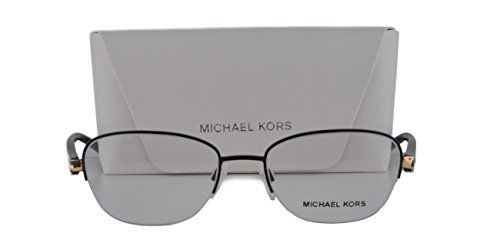 57 Mm Brad Point (Michael Kors MK3007 Sadie VI Eyeglasses 49-17-135 Matte Black 1061 MK 3007)