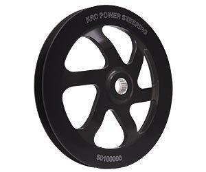 KRC Power Steering KRC 50100000 Pulley (6in Alum. V-Belt) ()