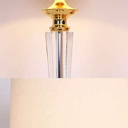 Home Creativity European Crystal Table Lamp, Bedroom Bedside Lamp, Modern Led Table Lamp Decoration, HJY