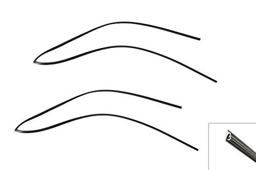 1983-1993 Mustang Convertible Windshield Molding Weatherstrip - Hardtop Weatherstripping Seals